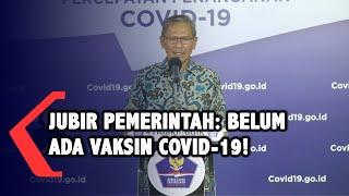 Jubir Achmad Yurianto: Belum Ada Vaksin Covid-19, Jangan Sampai Tertular!