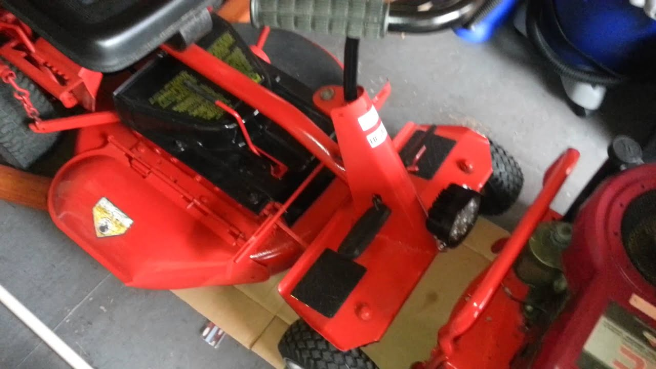 Snapper Sr1433 Riding Mower Wiring Harness Rear Engine Rider Now Fully Restored Youtube 1920x1080