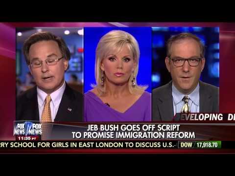 Jeb Bush goes off script on immigration reform
