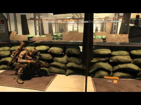 The Division - Black Market AK-74 (high end) - Firing range test - Amazing Gun!