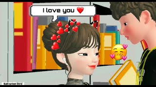 Zepeto Cartoon video | zepeto love story | bush cartoon World |