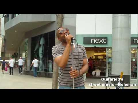 Holoman - At Last (Etta James cover) Leeds city centre