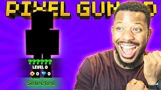 SO I MADE A NEW ACCOUNT AND .. l Pixel Gun 3D