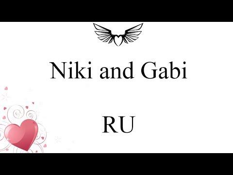 Niki and Gabi - RU (lyrics)