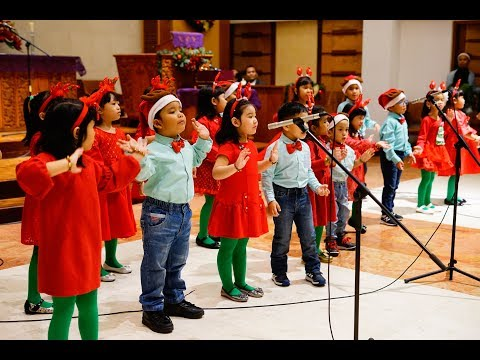 Natal Sekolah Minggu HKBP Menteng Kelas Kecil 2017