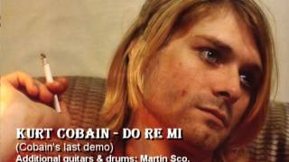 Nirvana - Do re mi (drums version - remixed - cobain last demo)