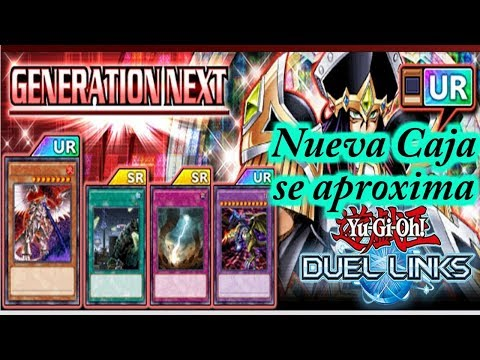 Generation Next la nueva caja se aproxima oficial, Yu-gi-oh Duel Links Nuevas Cartas, Nueva Caja