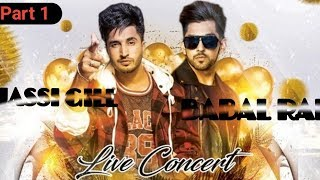 Jassi Gill & Babbal Rai Live Performance in Etah | Jassi Gill in Etah | AV VLOGS Part1