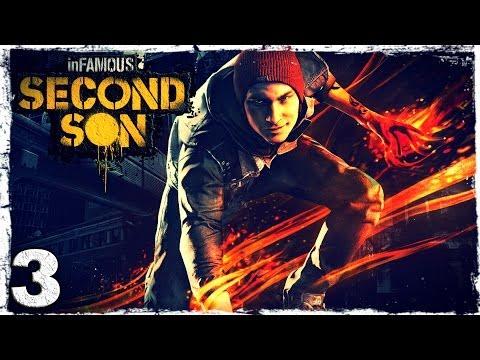 Смотреть прохождение игры [PS4] InFamous: Second Son. # 3: Маляр.