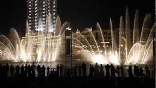 The Prayer - Fountain Show @ Dubai Mall