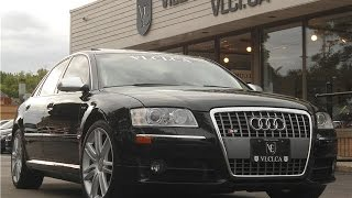 2007 Audi S8 in review - Village Luxury Cars Toronto