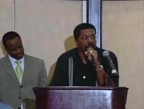Bishop Darryl Hines Preaching Mens breakfast