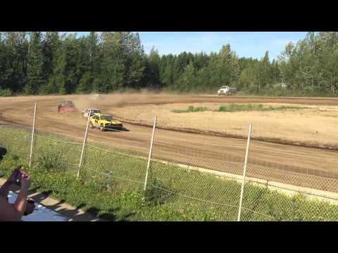 6/13/2015 Ministock Heat 1, Capitol Speedway, Willow, Alaska