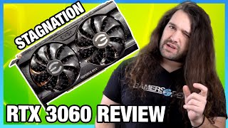 NVIDIA RTX 3060 GPU Review & Benchmarks: Aaand It's Gone