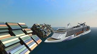 ADF Vermaas vs Orient Star | Ship Simulator Extremes Battles