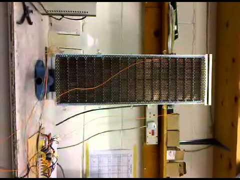 Electrostatic speaker panel testing for bespoke electrostatic loudspeakers