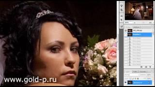 Ретушь свадебной фотографии 3-1