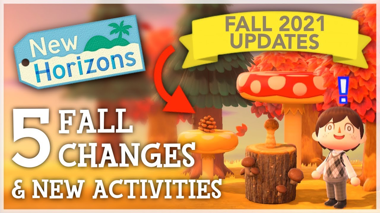 Animal Crossing New Horizons - 5 FALL CHANGES (New Updates & Activities)