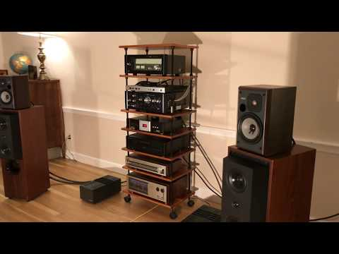 Fantastic Yamaha NS-2 Studio Monitor Sound Demo | 4K | Vintage HiFi