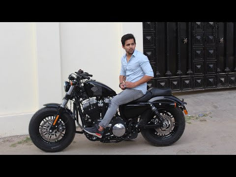 Harley Davidson Forty Eight In India | Public Reaction | Indian Traffic