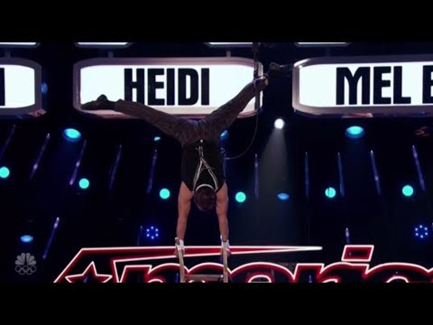 Extreme Balancing Act Scares The HELL Out of The Judges! America's Got Talent 2017