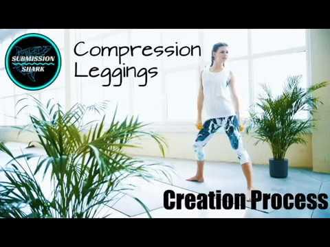 Yoga/No-Gi Jiu-Jitsu Capri Leggings   Submission Shark's Creation Process