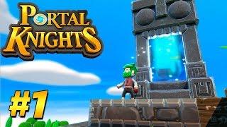 Minecraft'a BENZER YENİ GERÇEKÇİ OYUN! - Portal Knights #1