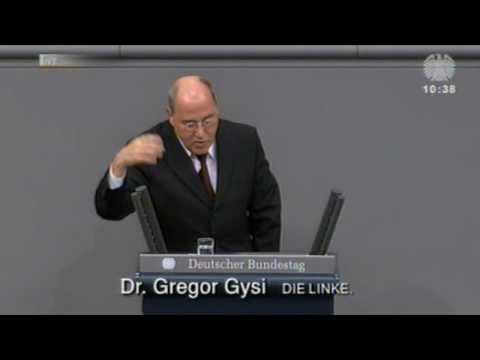 Gregor Gysi, DIE LINKE: Bundesregierung zerstört die Gesellschaft