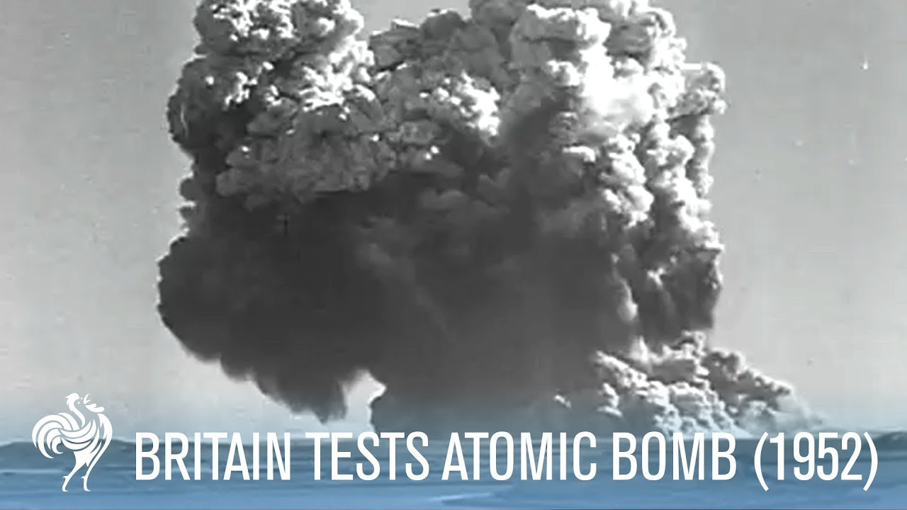 Dramatic Footage of Britain Testing An Atomic Bomb (1952)   War Archives -  YouTube