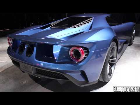 2017 Ford GT Start-up, Revs and Moving!