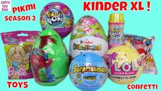 Pikmi Lol Confetti Pop Surprise Toys Unboxing Eggs Mlp Blind Bags