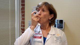 How to correctly use an asthma inhaler