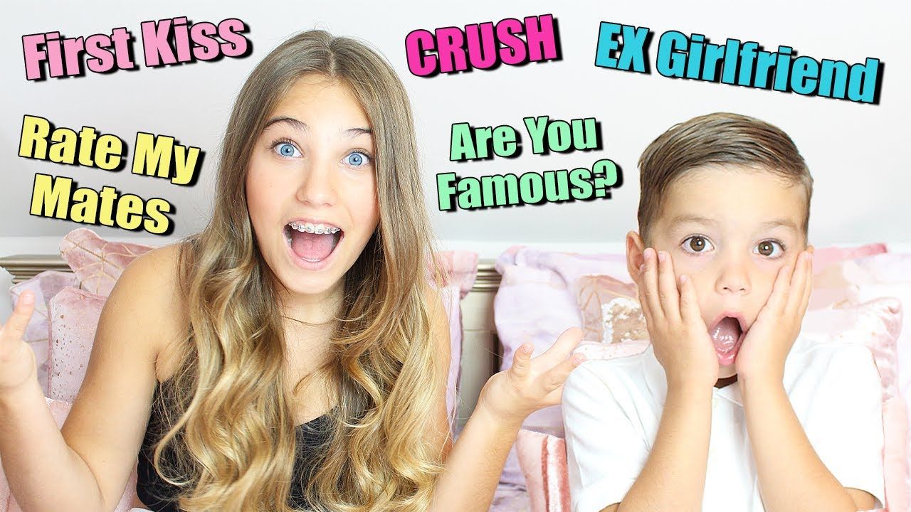 Asking My LITTLE BROTHER Questions You're Too Afraid To Ask Your SIBLINGS! | Rosie McClelland