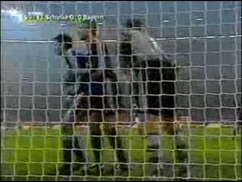 DFB-Pokal 01 02 Halbfinale - FC Schalke 04 vs. FC Bayern ►►Weltrekordversuch siehe rechts►►►