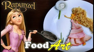 Rapunzel - Food Art