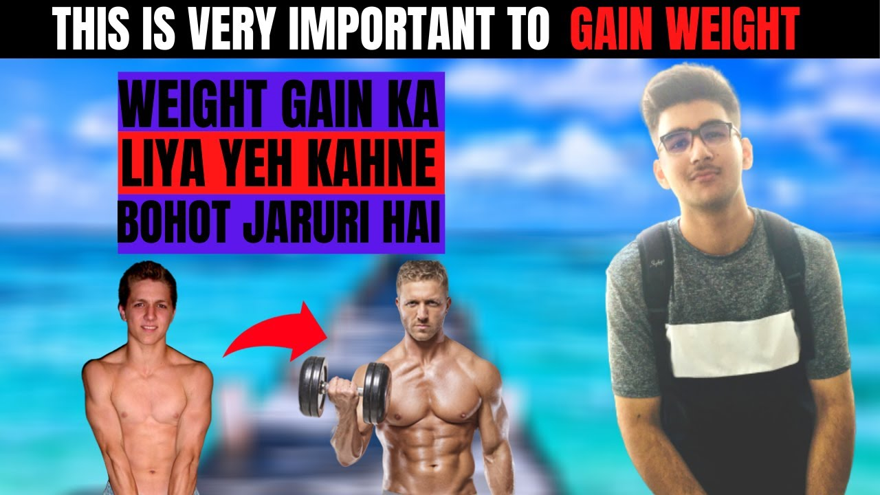 Weight Gain Tips I How To Gain Weight I Myths Buster Part 4