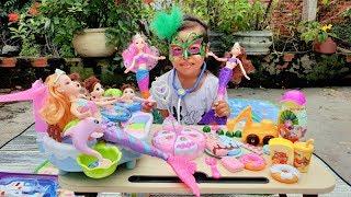 Trò Chơi Búp Bê Xinh Đẹp ❤ ChiChi ToysReview TV ❤ Đồ Chơi Trẻ Em Baby Barbie Doll