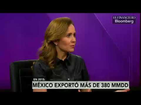 México es la economía que más exporta a nivel mundial: Valeria Moy