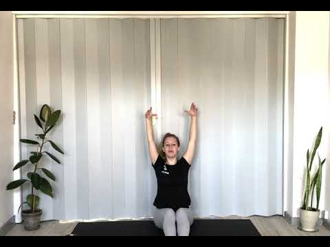 Yogapraksis til at løsne op i og afspænde kroppen efter fysisk aktivitet