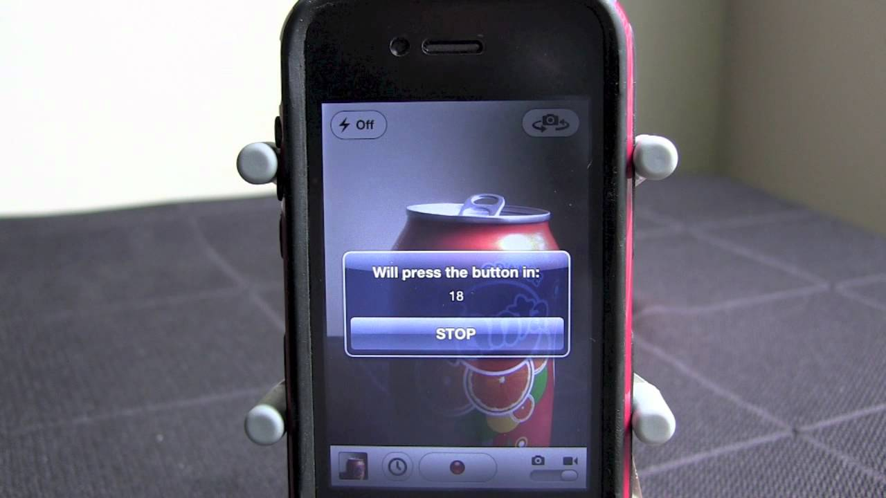 iphone camera timer set a timer on your iphone with camtime 11696
