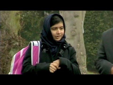 Saharov Ödülü'nü Malala Yusufzai kazandı