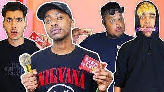 ULTIMATE CHOCOLATE RAP BATTLE CHALLENGE!!