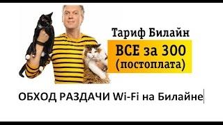 Как обойти раздачу Wi-Fi на Билайне и TELE 2