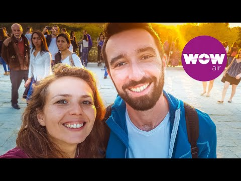 WOW air travel guide application - Welcome to Bucharest