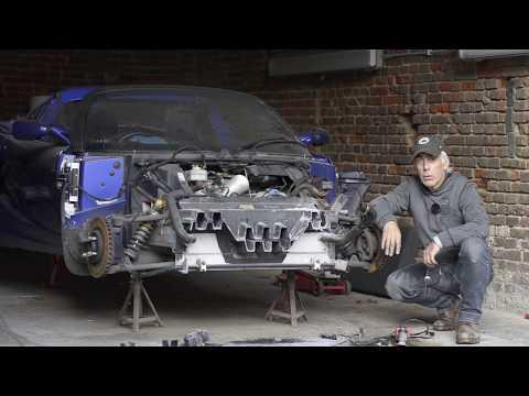 Lotus Elise S2 , Crashbox removal
