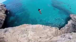 Cliff Diving Mallorca Spain 2014