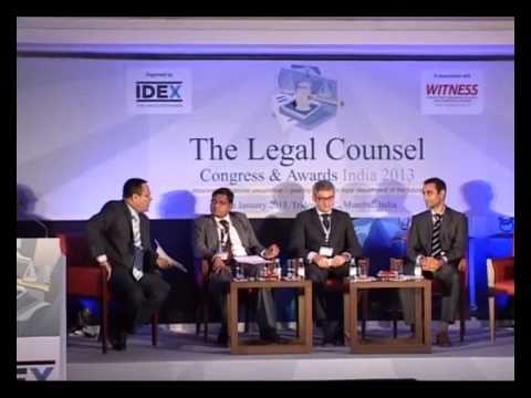 Session Robo-lawyer at Legal Counsel Congress 2013 - Mumbai