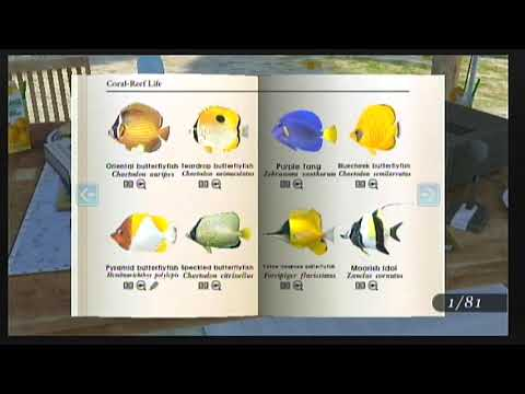 Creeviant Plays Endless Ocean Blue World Part 14: Big Book Of Fishes 2 (Complete)