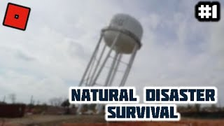 Roblox Variety. Natural Disaster Survival#1 (Almost Nobody Survives)
