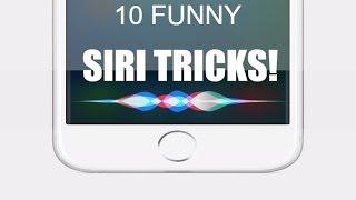 10 funny siri tricks